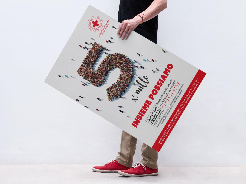 campagna 5 per mille Croce Rossa Pavia