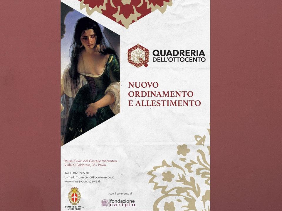 Quadreria_Ottocento_Poster